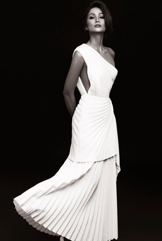 Hoa hậu H'Hen Niê được khen đẹp như nữ thần trong bộ ảnh với gam màu cơ bản đen và trắng - 3