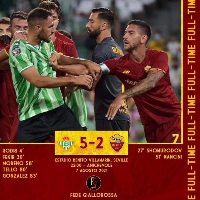 HLV Mourinho bị đuổi, Roma thảm bại sốc trong trận cầu 7 bàn, 6 thẻ đỏ - 3