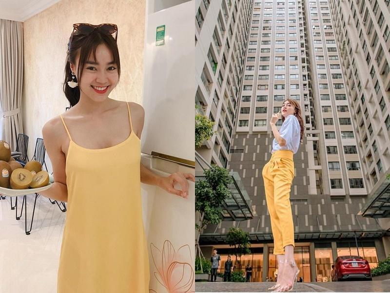 Ninh Dương Lan Ngọc diện váy ngủ lấp ló vòng 1 khiến fan thót tim - 8