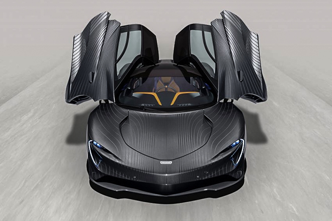 Siêu phẩm McLaren Speedtail bản đặc biệt lộ ảnh lần đầu - 1