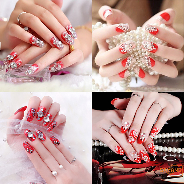 10 mẫu nail cô dâu đẹp đơn giản nhẹ nhàng hiện đại và sang chảnh - 1