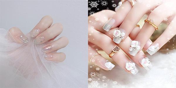 10 mẫu nail cô dâu đẹp đơn giản nhẹ nhàng hiện đại và sang chảnh - 6