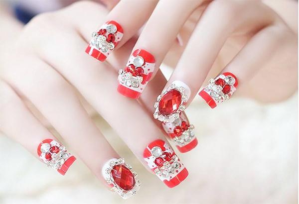 10 mẫu nail cô dâu đẹp đơn giản nhẹ nhàng hiện đại và sang chảnh - 7