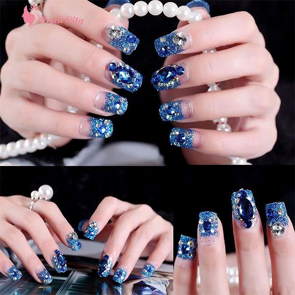 10 mẫu nail cô dâu đẹp đơn giản nhẹ nhàng hiện đại và sang chảnh - 9