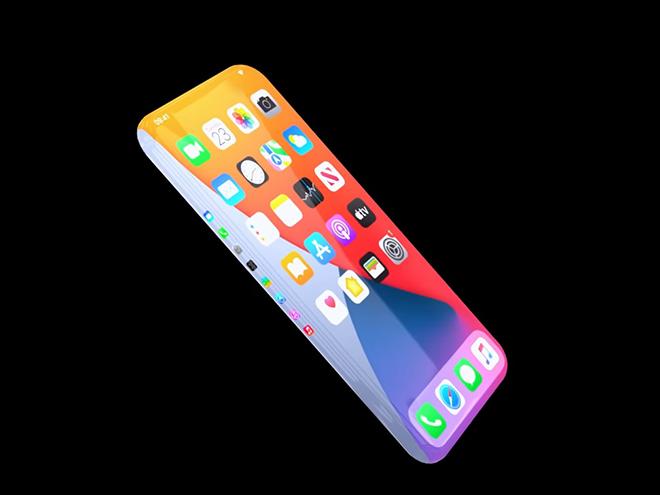 """Fan hết hồn với concept iPhone 13 không viền, không cạnh, không """"tai thỏ"""" - 1"""