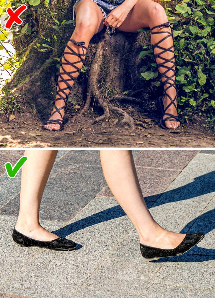 7 kiểu giày dép giúp đôi chân bạn thon đẹp quyến rũ hơn - 7
