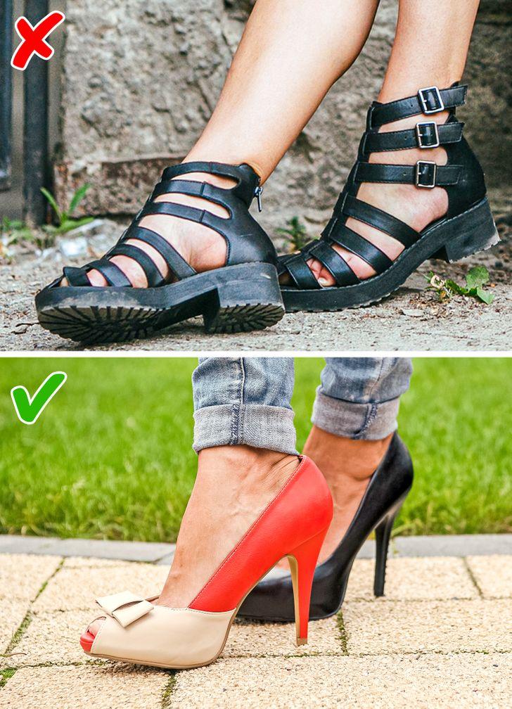 7 kiểu giày dép giúp đôi chân bạn thon đẹp quyến rũ hơn - 3