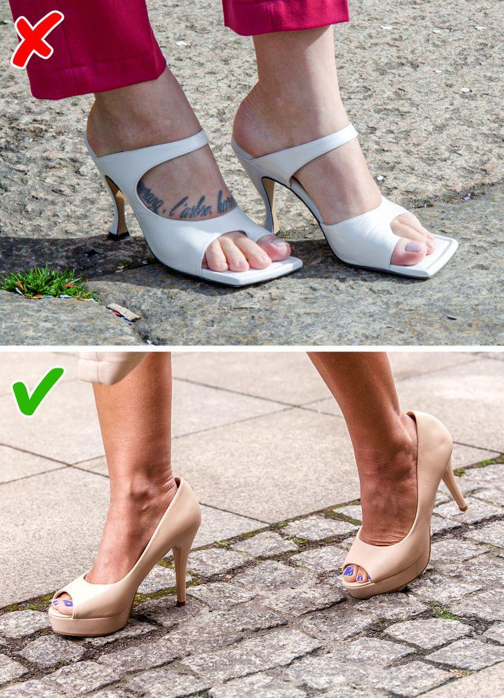 7 kiểu giày dép giúp đôi chân bạn thon đẹp quyến rũ hơn - 5