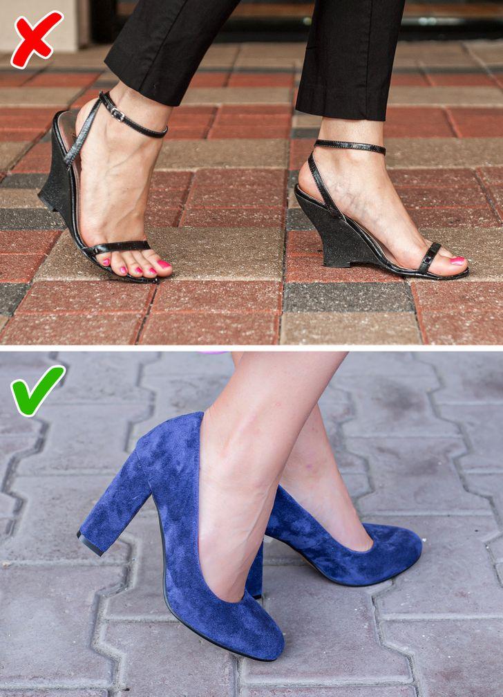 7 kiểu giày dép giúp đôi chân bạn thon đẹp quyến rũ hơn - 1