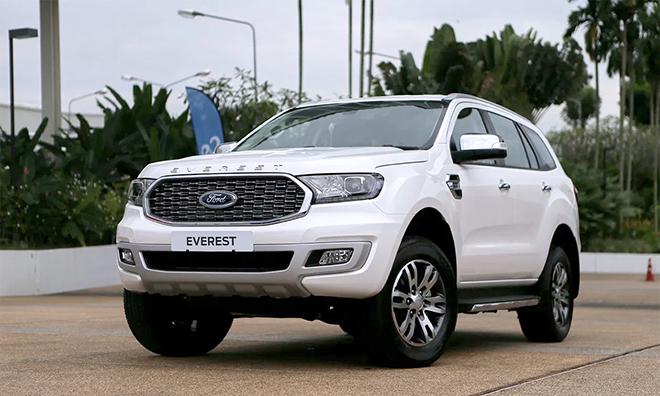 Giá xe Ford Everest lăn bánh tháng 8/2021, ưu đãi 20 triệu đồng - 10