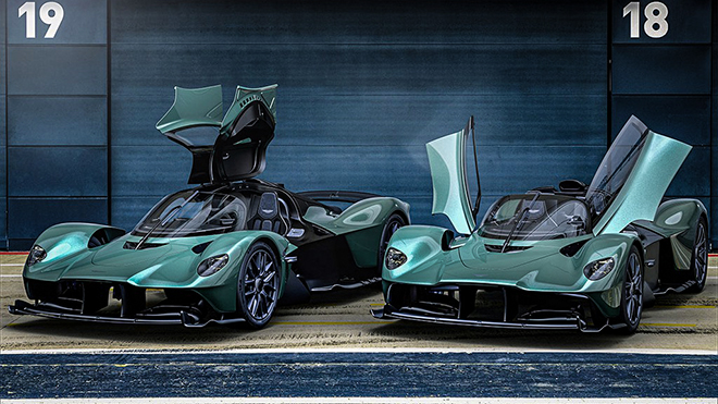 Siêu phẩm Aston Martin Valkyrie mui trần ra mắt toàn cầu - 1