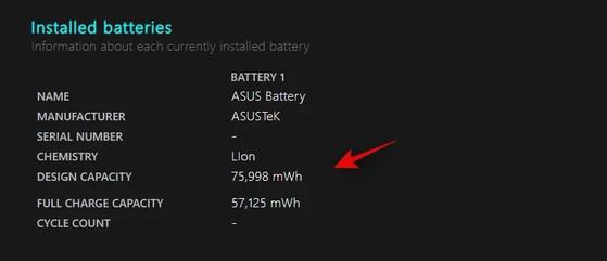 3 cách kiểm tra độ chai pin trên laptop không phải ai cũng biết - 2