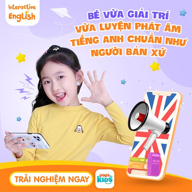 Trẻ vừa xem video giải trí, vừa luyện nói tiếng Anh cực chuẩn với tính năng mới của Ứng dụng POPS Kids - 3