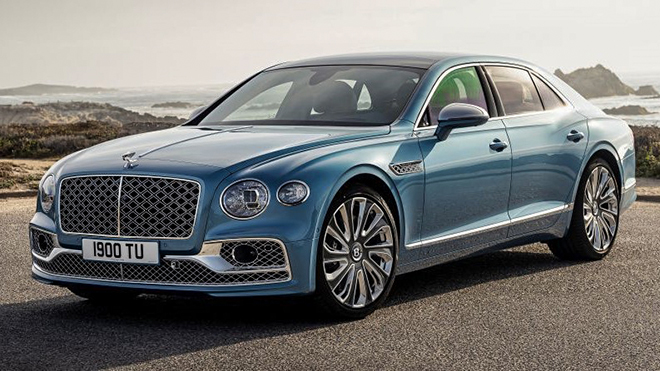 Bentley giới thiệu bản GT trên dòng xe Flying Spur Mulliner - 1