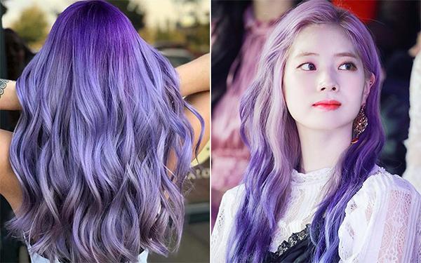 Top 20 màu tóc tím đẹp trẻ trung năng động dẫn đầu xu hướng hiện nay - 11