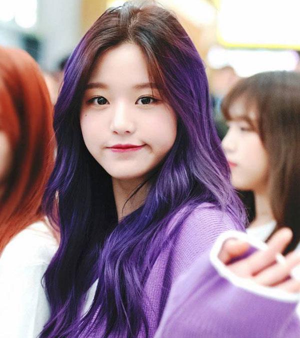 Top 20 màu tóc tím đẹp trẻ trung năng động dẫn đầu xu hướng hiện nay - 17