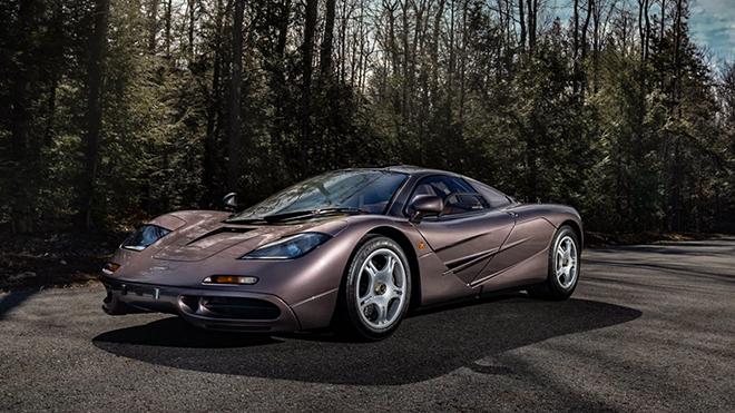 Siêu phẩm đồ cổ McLaren F1 bán đấu giá hơn 470 tỷ đồng - 1