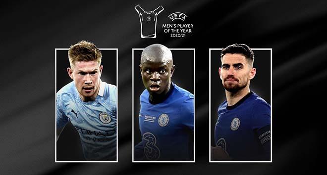 Choáng Messi văng top 3 cầu thủ xuất sắc nhất châu Âu, Kante đấu De Bruyne - 1
