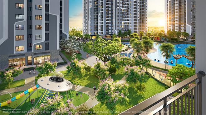 """Đặc quyền """"1 ngôi nhà, 3 thiên đường xanh"""" trong dự án The Miami tại Hà Nội - 2"""