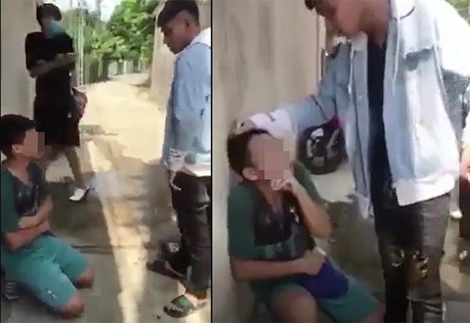 Nam thanh niên đánh đập, bắt người khác quỳ gối vì... nhắn tin với bạn gái mình - 1