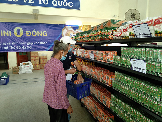 Alphanam Green Foundation vận hành Siêu thị mini 0 đồng huyện Phú Xuyên - 1