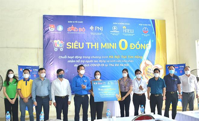 Alphanam Green Foundation vận hành Siêu thị mini 0 đồng huyện Phú Xuyên - 2