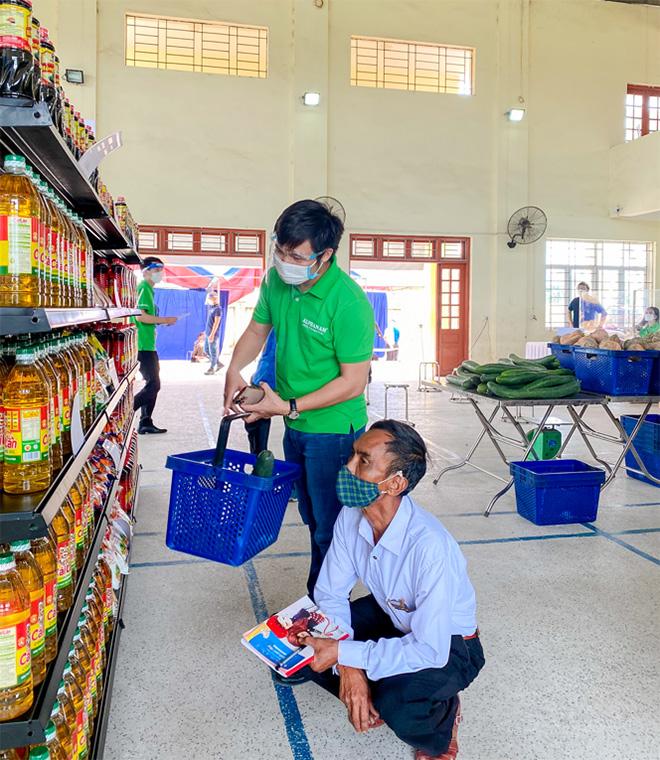 Alphanam Green Foundation vận hành Siêu thị mini 0 đồng huyện Phú Xuyên - 6