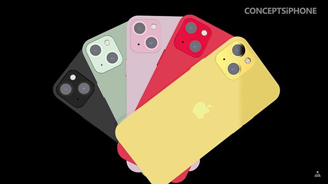 """iPhone 13 hiện hình với 5 màu cực đã mắt, siêu """"ngầu"""" - 4"""