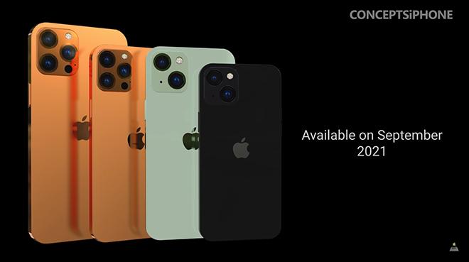 """iPhone 13 hiện hình với 5 màu cực đã mắt, siêu """"ngầu"""" - 5"""