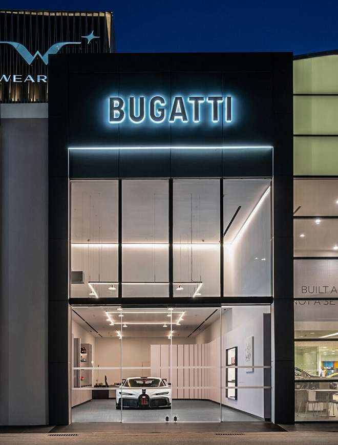 Bugatti mở đại lý đầu tiên tại Đông Nam Á - 1