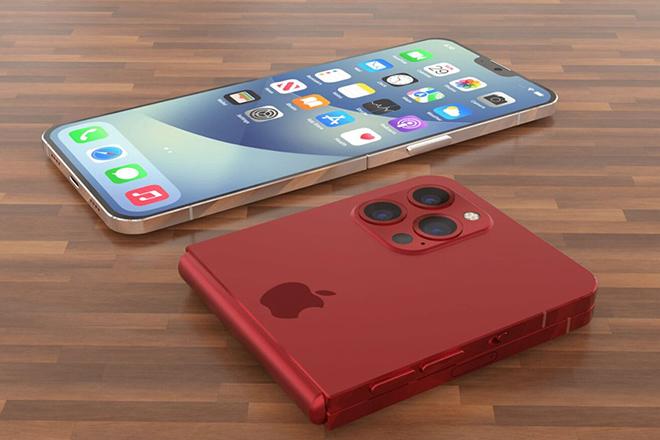 iPhone gập lại lạ lẫm với notch thu gọn - 3