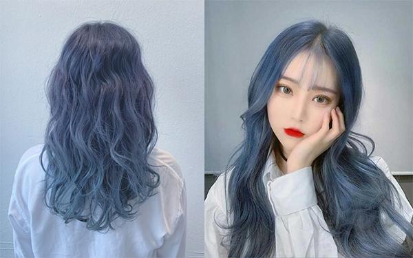 Top 12 màu tóc xám xanh đẹp trẻ trung ấn tượng và vô cùng nổi bật - 10