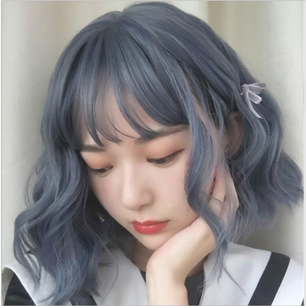 Top 12 màu tóc xám xanh đẹp trẻ trung ấn tượng và vô cùng nổi bật - 11