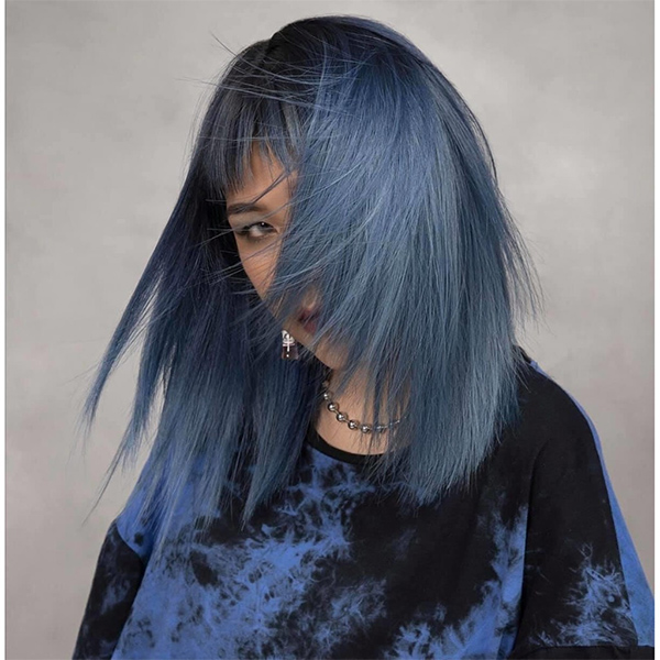 Top 12 màu tóc xám xanh đẹp trẻ trung ấn tượng và vô cùng nổi bật - 3