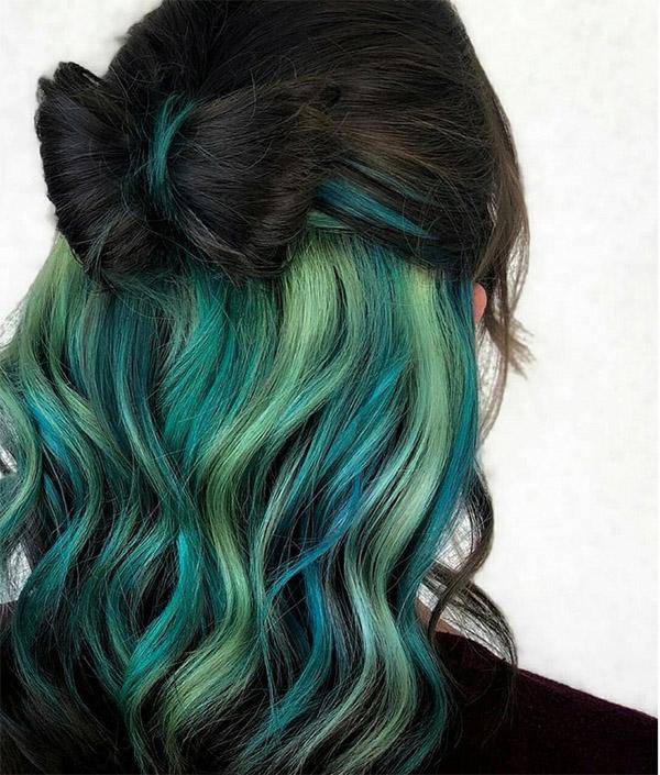 Top 12 màu tóc xám xanh đẹp trẻ trung ấn tượng và vô cùng nổi bật - 8