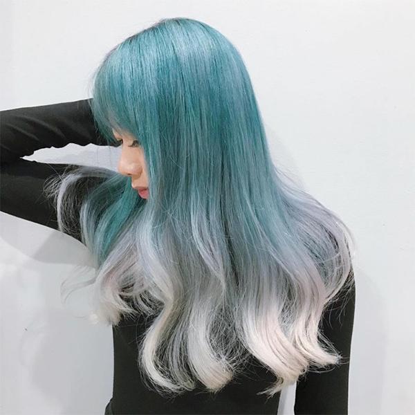 Top 12 màu tóc xám xanh đẹp trẻ trung ấn tượng và vô cùng nổi bật - 9
