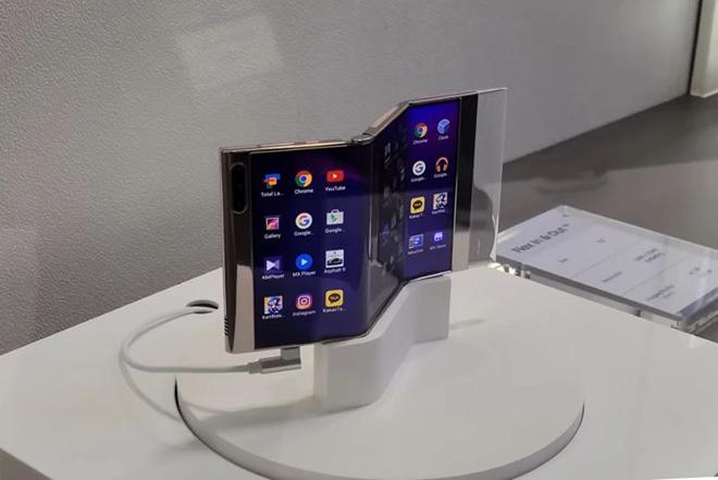 Samsung lại làm nứt lòng người hâm mộ với công nghệ màn hình chưa từng có - 1