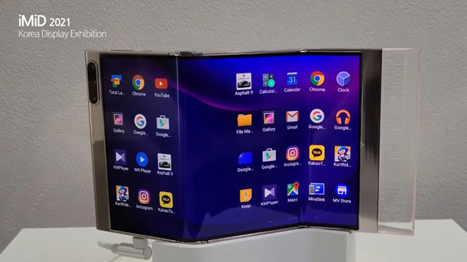 Samsung lại làm nứt lòng người hâm mộ với công nghệ màn hình chưa từng có - 3