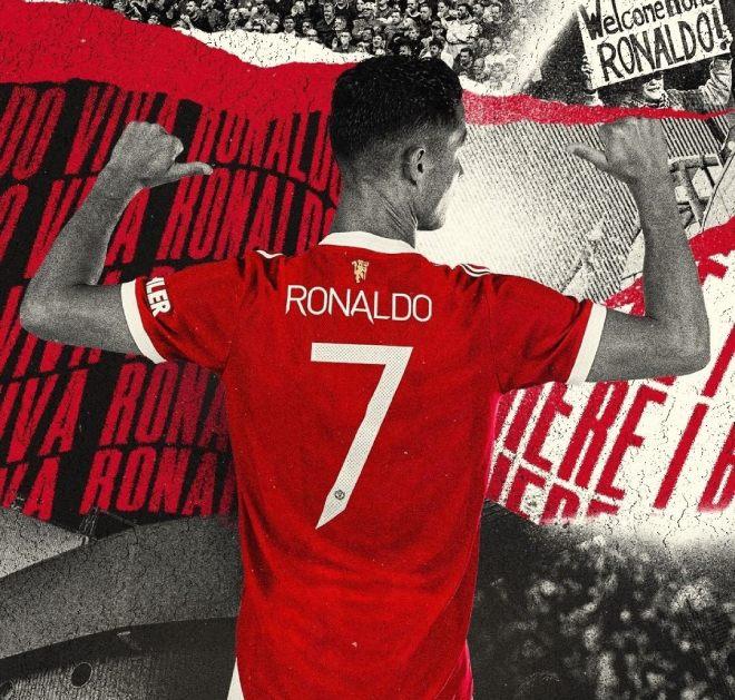 Nóng: MU xác nhận Ronaldo mặc lại áo số 7 huyền thoại, triệu fan vỡ òa - 1
