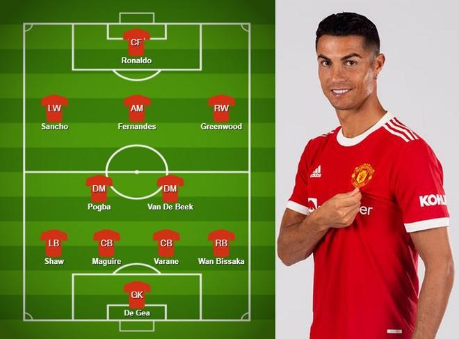 """Rò rỉ đội hình MU đấu Newcastle: Ronaldo đá chính, lĩnh xướng hàng công """"Quỷ đỏ"""" - 1"""