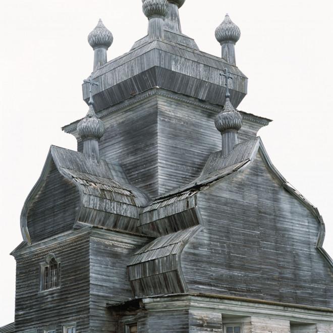 Nhà thờ gỗ hơn 300 năm tuổi xây dựng mà không dùng tới đinh sắt - 4