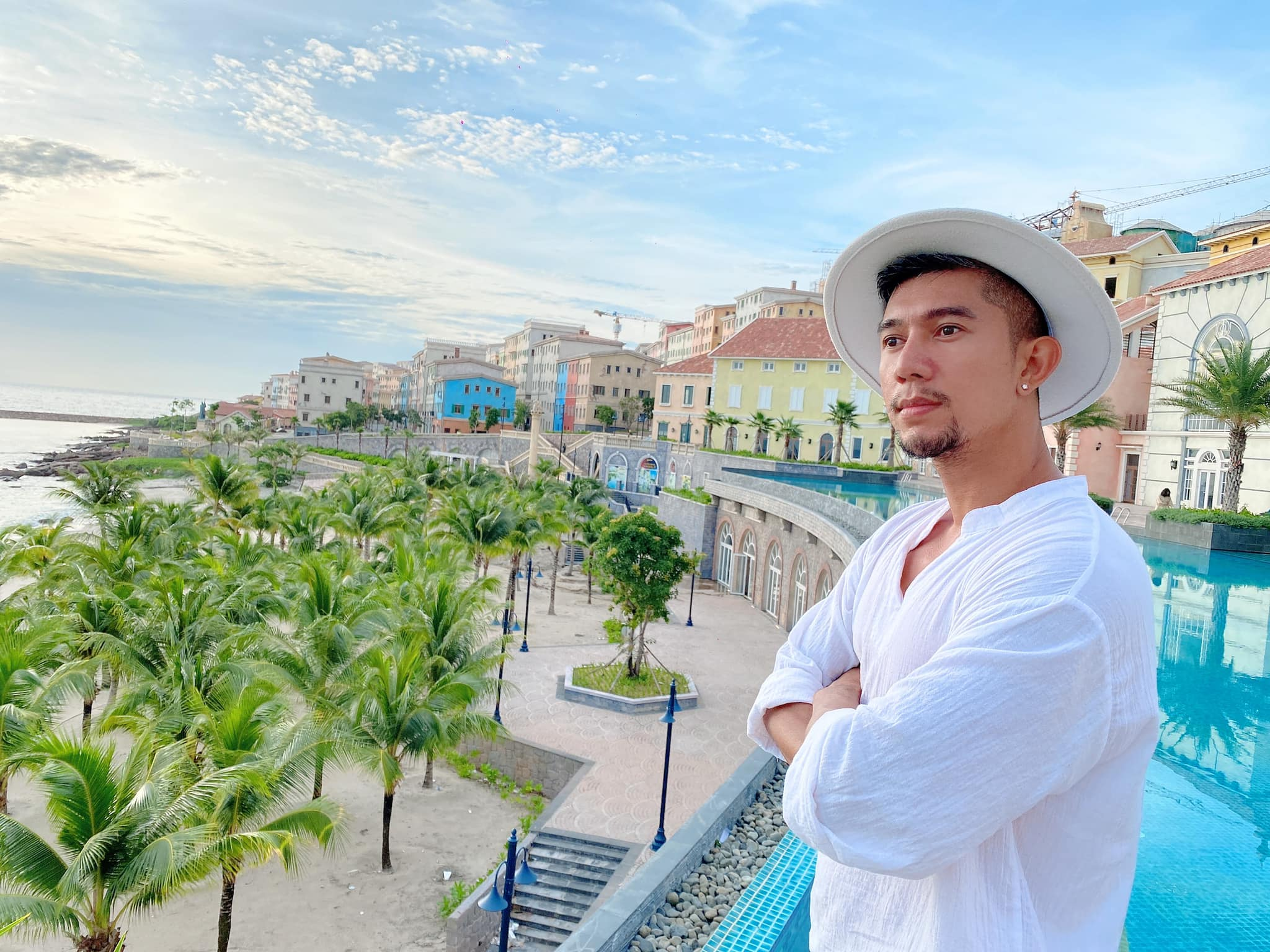 Lương Bằng Quang làm bảo vệ, cọ toilet kiếm sống ở Phú Quốc - 1