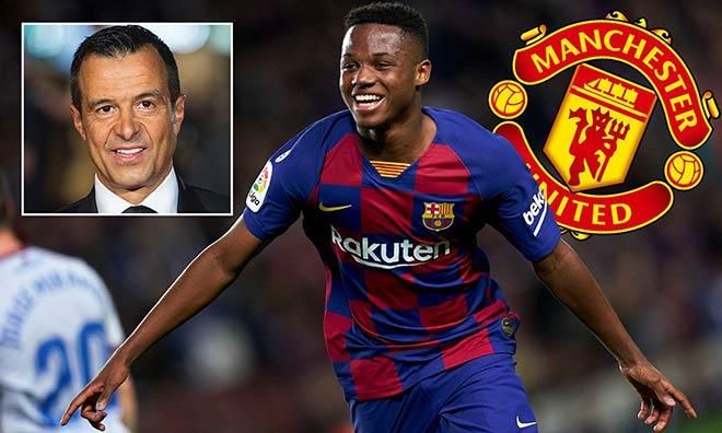 """MU lại hưởng lợi vụ Ronaldo, """"siêu cò"""" xui cuỗm Ansu Fati của Barca miễn phí - 3"""