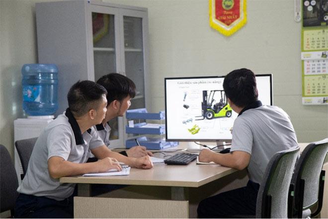 Xe nâng Clark trở thành lựa chọn tuyệt vời cho người Việt - 3