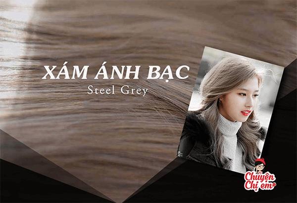 12 màu tóc nâu xám đẹp ấn tượng nổi bật và cá tính được yêu thích nhất - 12