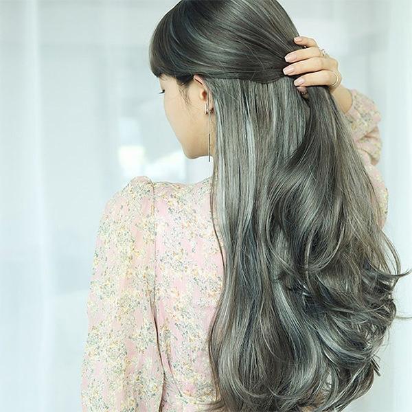 12 màu tóc nâu xám đẹp ấn tượng nổi bật và cá tính được yêu thích nhất - 13