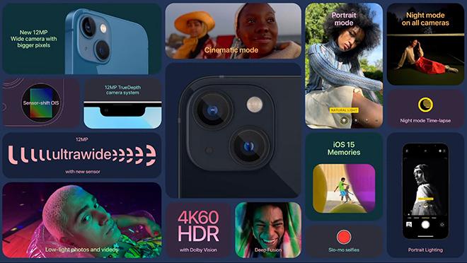 Apple ra mắt bộ tứ iPhone 13: Tuyệt đỉnh camera, giá không đổi - 7