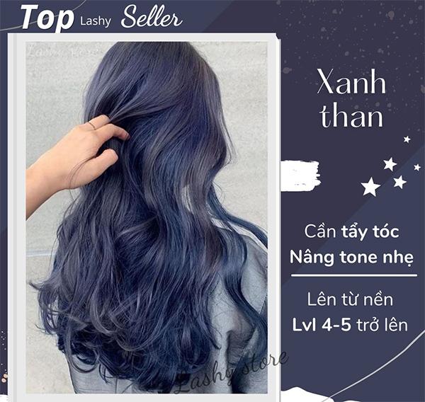Top 10 màu tóc xanh rêu đẹp cá tính ấn tượng hot nhất hiện nay - 7