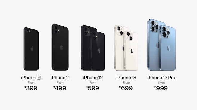 TRỰC TIẾP: Apple công bố 4 phiên bản của iPhone 13 series - 4
