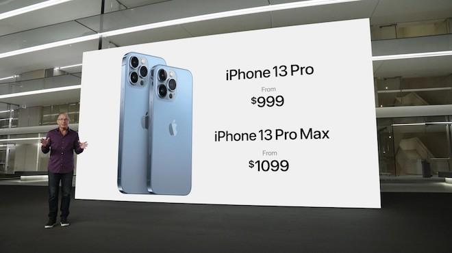 TRỰC TIẾP: Apple công bố 4 phiên bản của iPhone 13 series - 2